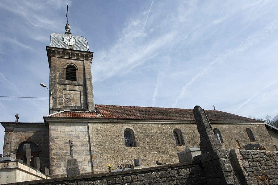 Église de Labergement-du-Navois (Doubs).