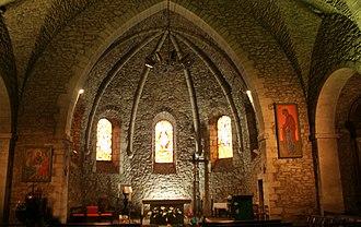 Tourism in Tarn - Choir of the Church Notre Dame in Lacaune