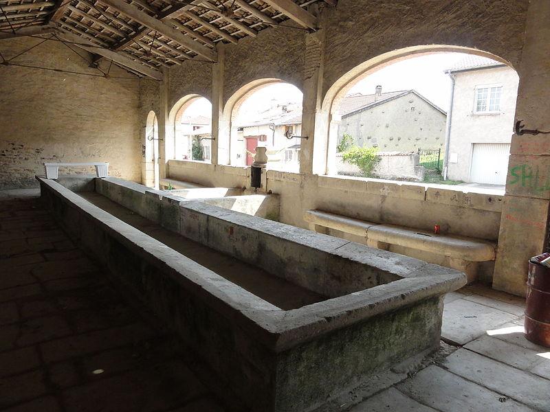 Lagney (Meurthe-et-M.) lavoir intérieur