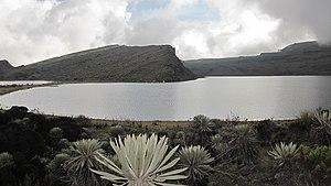 Sumapaz River - Lake Chisacá, source of the river