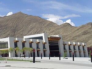 Qinghai–Tibet Railway - Lhasa railway station