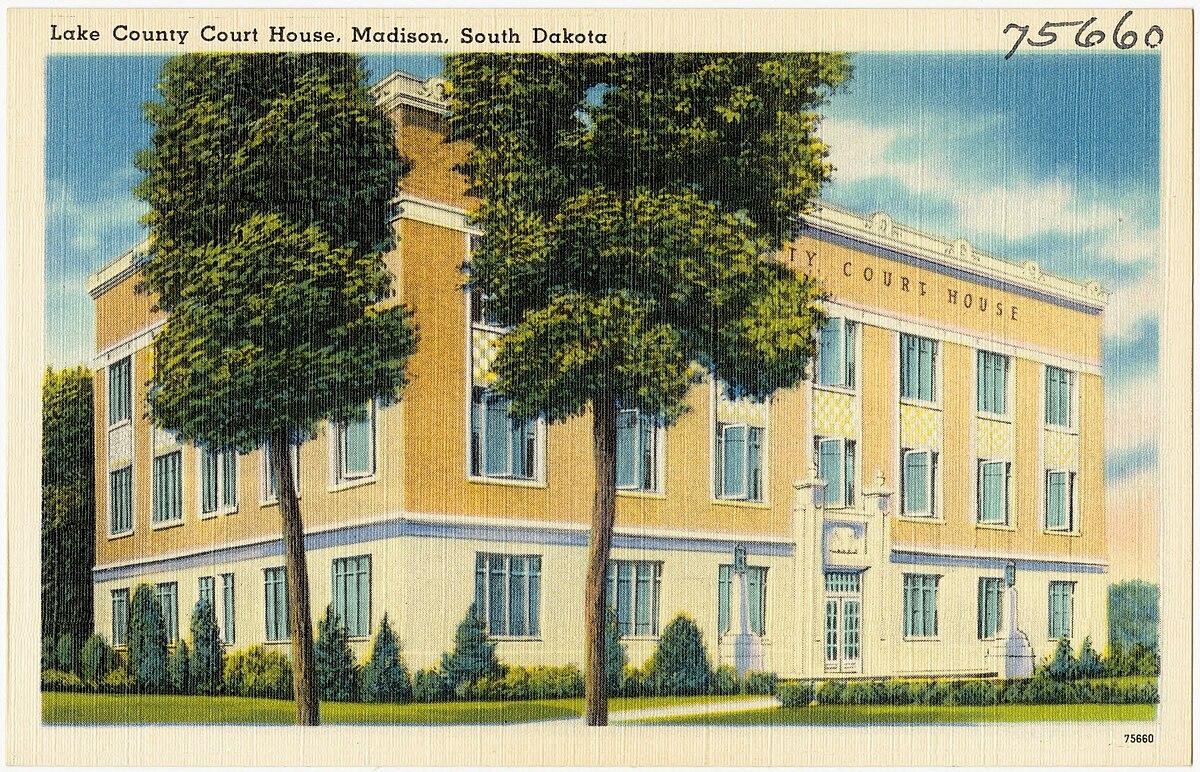 Px Lake County Court House C Madison C South Dakota on Px 7 Dakota