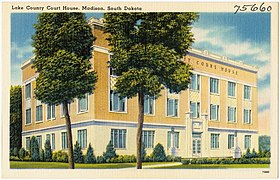 Lake County Court House, Madison, South Dakota (75660).jpg