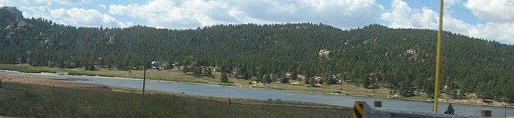 Lake george colorado wikipedia for Lake george cabins and rv park lake george co