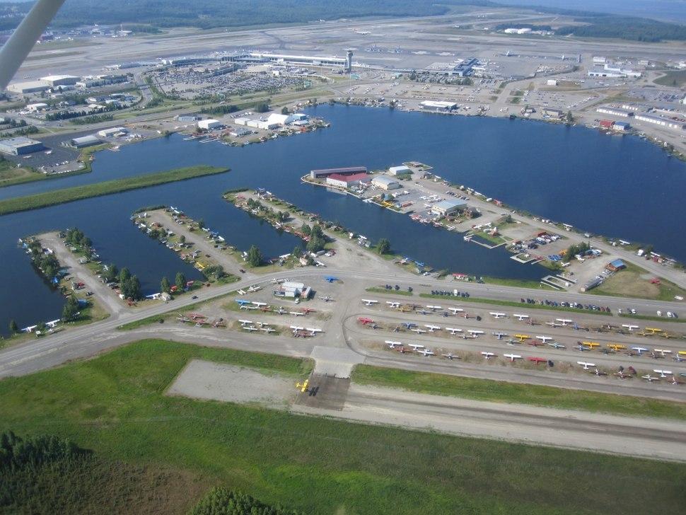Lake Hood Seaplane Base and Gravel Strip
