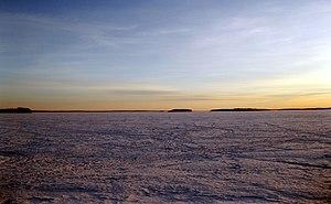 Lake Lappajärvi - Image: Lake Lappajärvi 2015 02 15