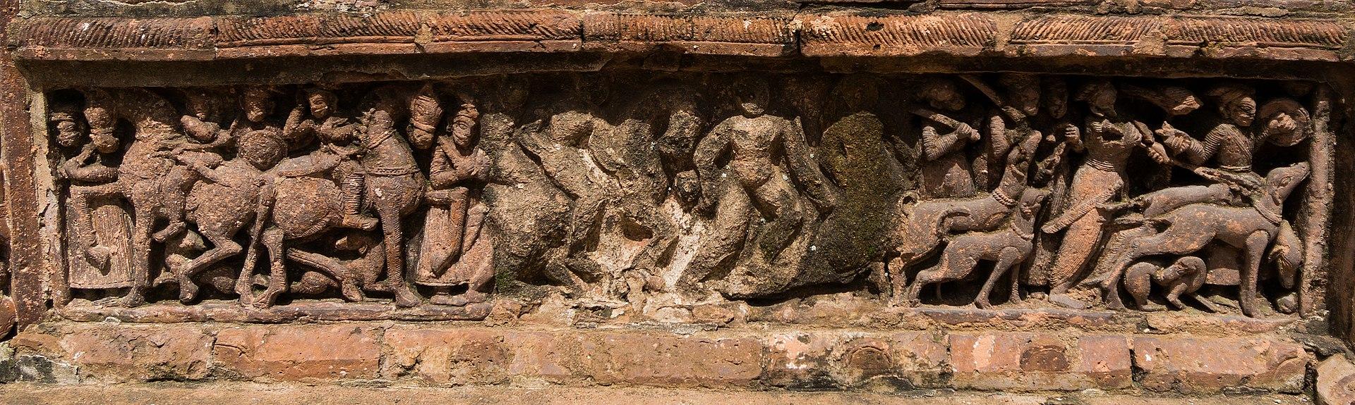 Lalji Temple - Kalna - Outer Panel - 11.jpg
