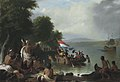Landing of Henry Hudson, 1609, at Verplanck Point, New York, by Robert Walter Weir.jpg