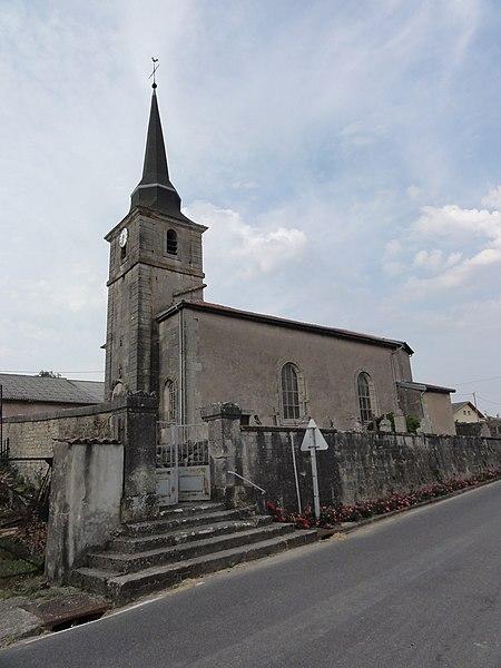 Landrécourt (Meuse) église