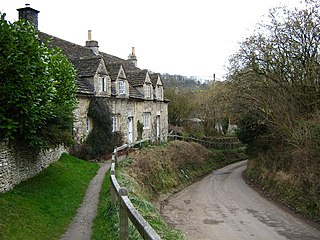 Slaughterford village in United Kingdom