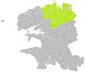 Lanmeur (Finistère) dans son Arrondissement.png