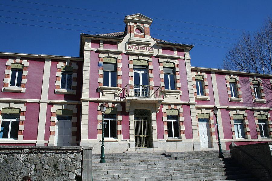 Laroque (Hérault) - mairie.
