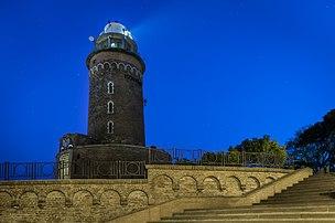Le phare de Kołobrzeg, en Poméranie-Occidentale. (définition réelle 5275×3507)