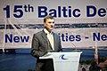 Latvijas Ministru prezidents Valdis Dombrovskis, Lietuvas Ministru prezidents Aļģirds Butkevičs (Algirdas Butkevičius) un Igaunijas premjerministrs Andruss Ansips (Andrus Ansip) apmeklē Baltijas attīstības forumu (8887721061).jpg