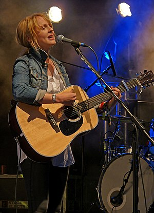 Laura Marling - Laura Marling performing at Glastonbury in 2010.