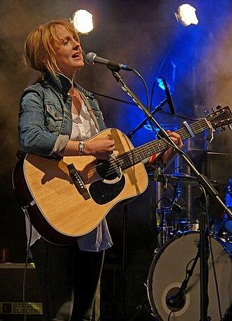 Laura Marling - Laura Marling performing at Glastonbury in 2010.