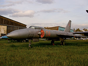 Lavochkin La-250 - La-250A at Central Air Force Museum at Monino