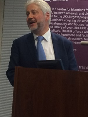 Lawrence Goldman - Lawrence Goldman at the IHR London, February 2016