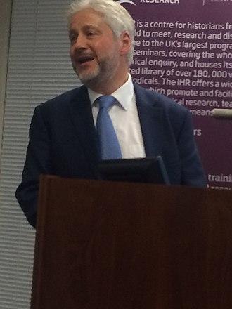 Lawrence Goldman - Lawrence Goldman at the IHR London, February 2016