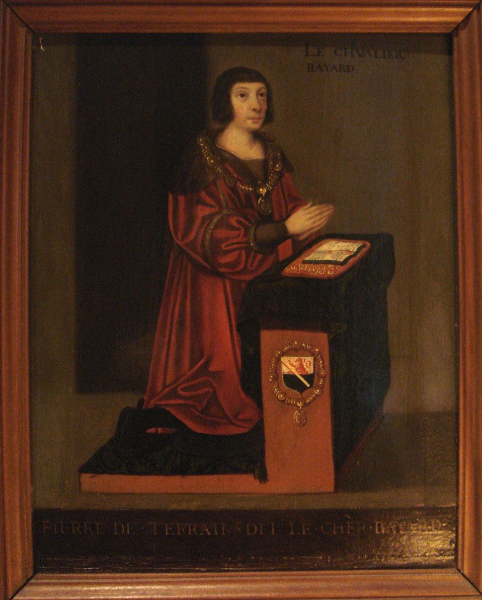 Le Chevalier Bayard 16th century French school painting