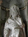 Le Faou (29) N.D. de Rumengol Porche sud Apôtre 10.JPG