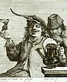 Le Joyeux buveur Coryn Boel d'après David Téniers II entre 1645 1665.jpg