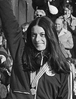 Leah Poulos in 1977