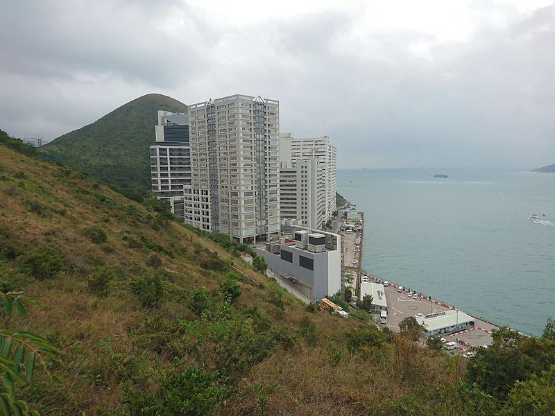 File:Lee Nam Road Industrial Area viewed from West Yuk Kwai Shan.JPG