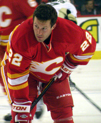 Lee Stempniak - Lee Stempniak prior to making his debut with the Flames in 2011.