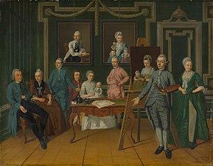 Lucas Overbeek en zijn familie