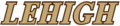 Lehigh Athletics wordmark.png