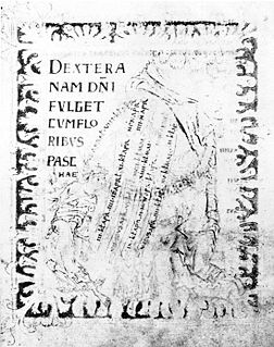 10th-century illuminated manuscript from England