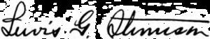 Lewis Stevenson (politician) - Image: Lewis Green Stevenson signature