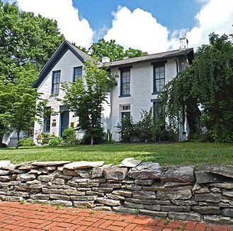 Worthington, Ohio - Louis Noble House, built in 1863