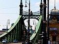 Liberty Bridge from Pest, 2013 Budapest (409) (13227623254).jpg