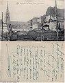 Lille - Les destructions après le siège de la Ville en octobre 1914. — Croisement des rues du Molinel, du Dragon et de Paris. vº- rº.jpg