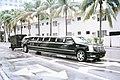 Limousine On South Beach (5087392129).jpg