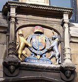 Lincoln Guildhall Coat of arms
