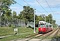 Linie 66 Schnellstrassenbahnstrecke vor Hst Per-Albin-Hansson-Siedlung Ost.JPG