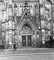 Lipcse, Németország. A Tamás-templom főbejárata. Fortepan 61126.jpg