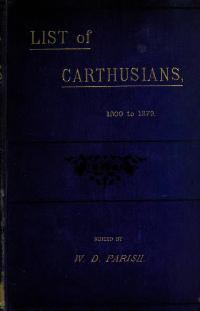 List of Carthusians 1800-1879.djvu