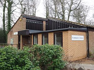 Little Chalfont - The Library showing the new computer suite