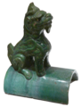 Little Green Dragon - looking right - Museum of Asian Art of Corfu.png