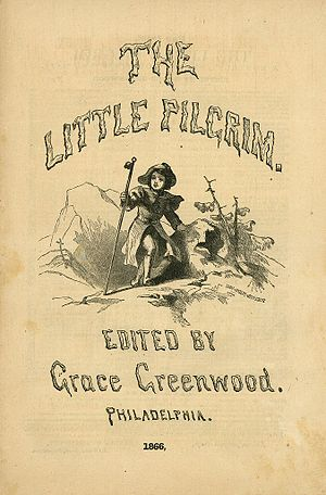 The Little Pilgrim - The Little Pilgrim masthead, 1866