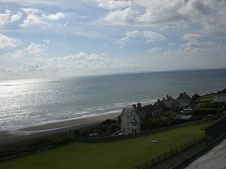 Llanaber - Image: Llanaber coastline