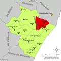 Localització de Vila-real respecte de la Plana Baixa.png
