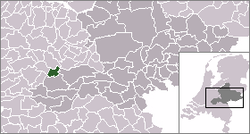 Location of Culemborg