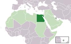 エジプトの位置