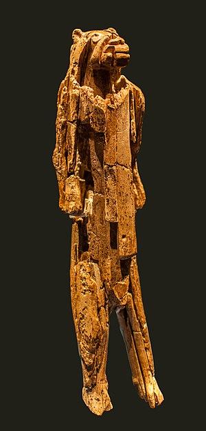 Lion-man - The Löwenmensch figurine after restoration in 2013