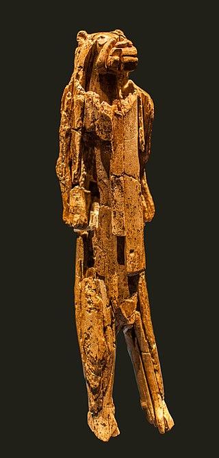 Statuette de l'homme-lion